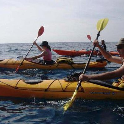 Sea kayaking Istra